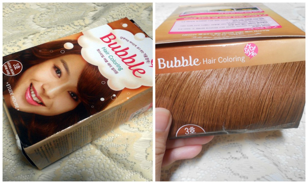 The Etude House Bubble Hair Dye in Natural Brown (3)