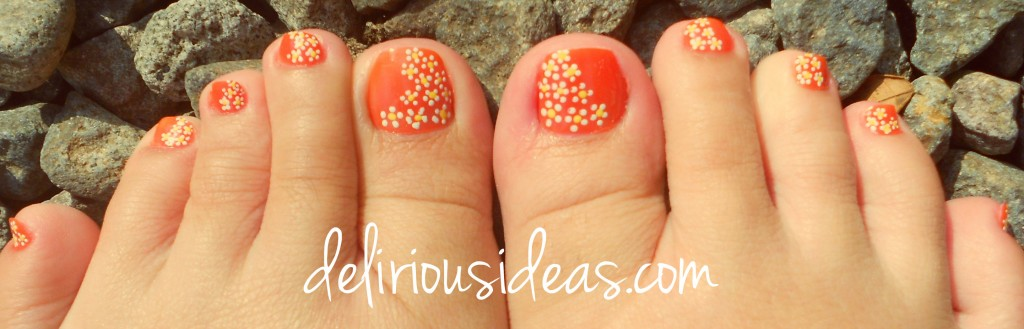Daisies on my feet - Summer on your toes