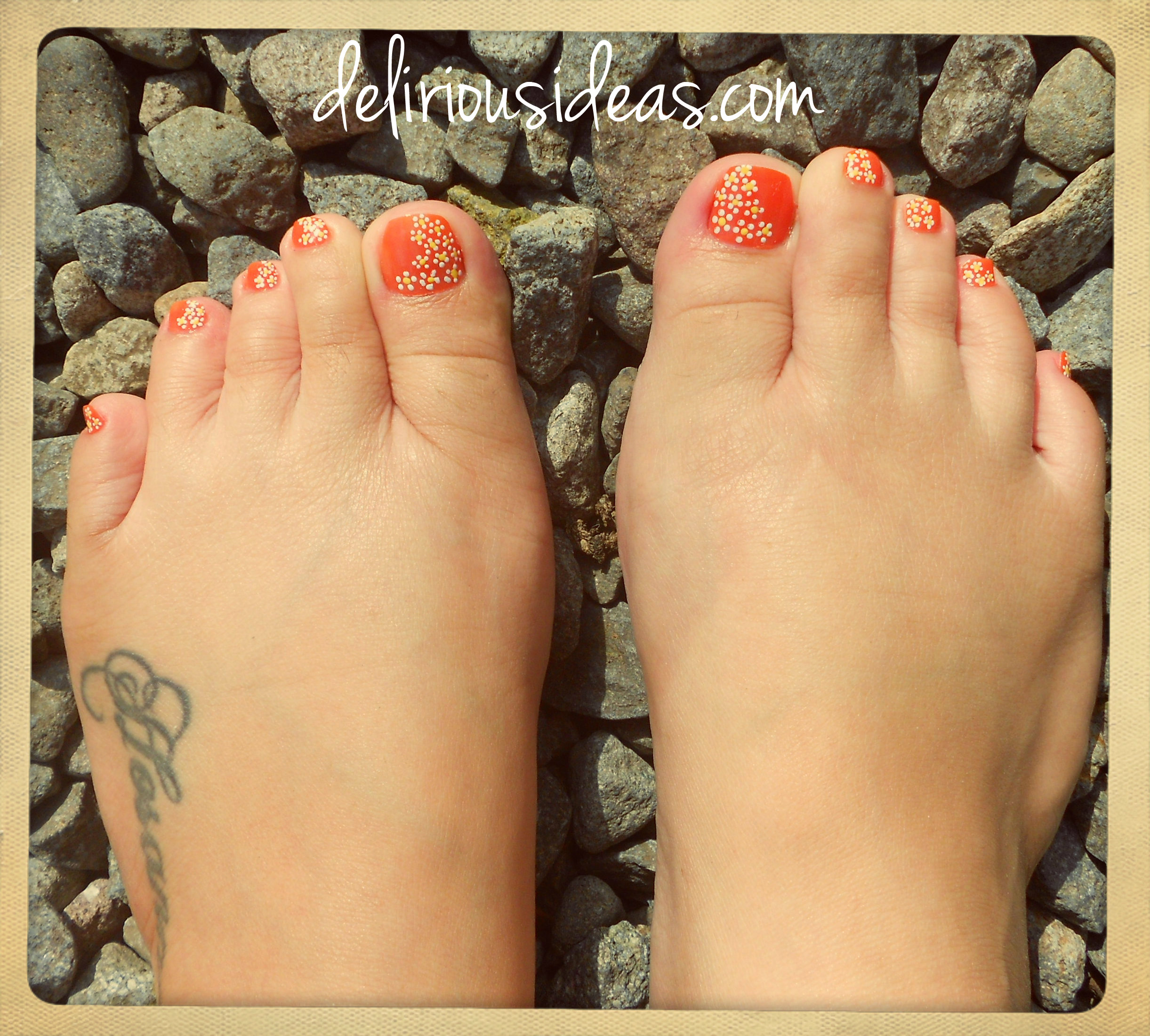 Simple Diy Daisy Nail Art Remembering Summer Delirious Ideas Your Lifestyle Site For