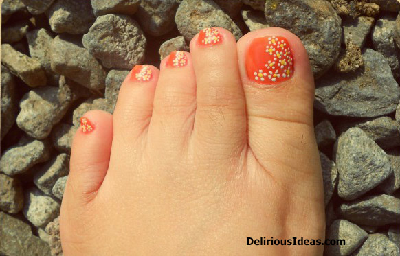 Simple Diy Daisy Nail Art Remembering Summer Delirious Ideas