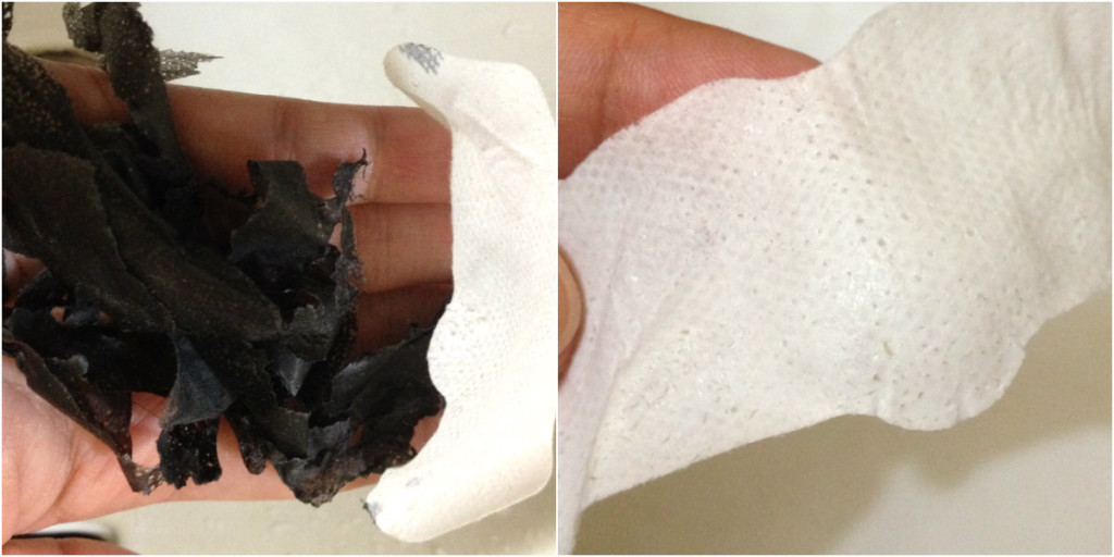 You'll be able to see dirt on the pore strip